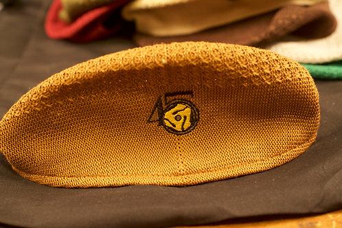 Rust Mesh Newsboy Ivy Cap Hat