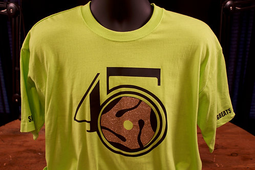 Lime T-shirt with logo