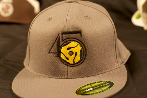 Grey Fitted Cap