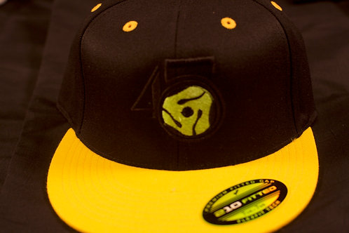 Black/Yellow Fitted Cap