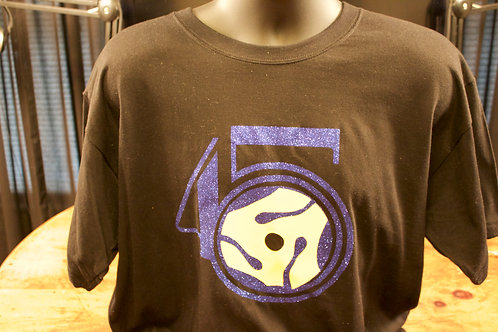 Black with Purple logo