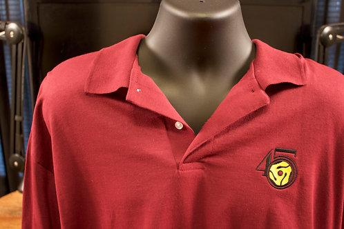 Maroon Polo Shirt with logo