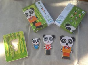 Puzzle en Bois - Panda