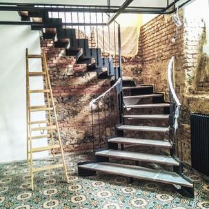stopnice polončič