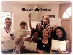 Elles sont diplômées !