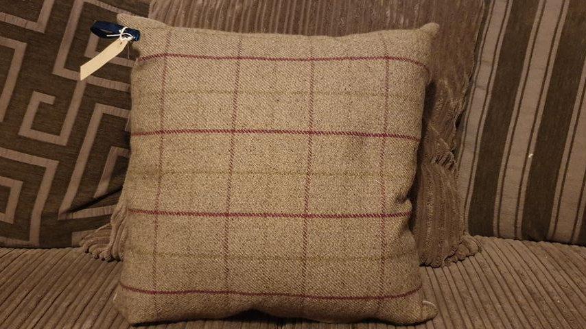 Tweed Style Cushion
