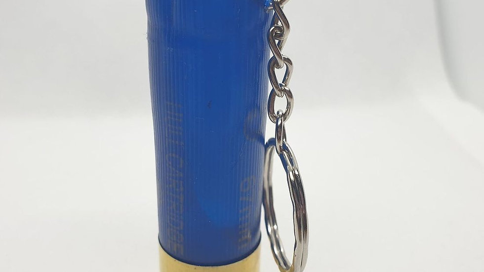 Blue 12 Bore Keyring