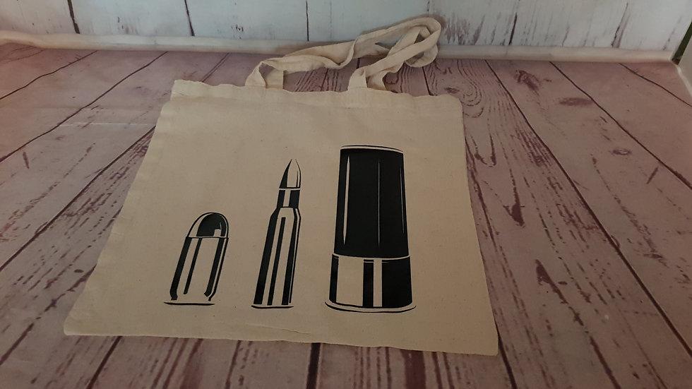 Cartridge & Rifle Tote Bag