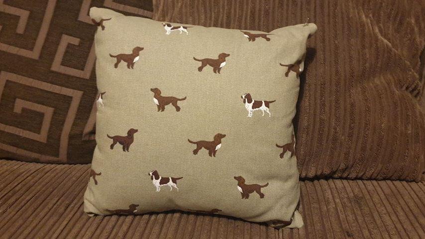Spaniel Cushion
