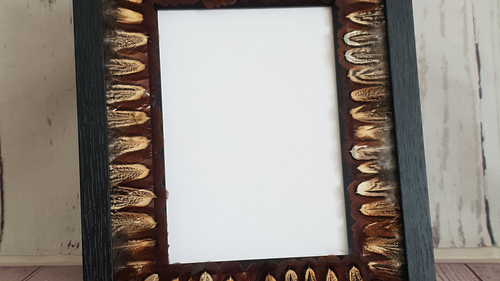 Feather Photoframe - A Feather