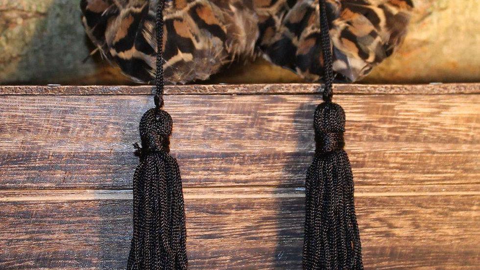 Hen Pheasant Feather Nipple Tassles
