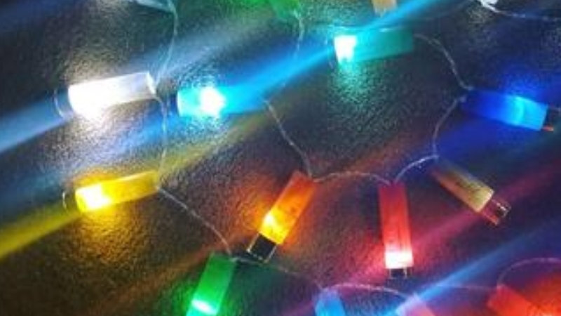 Shotgun Cartridge Fairy Lights