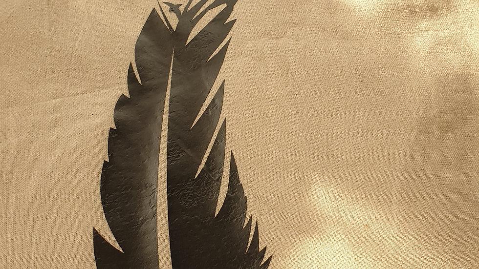 Flyaway Feather Tote Bag