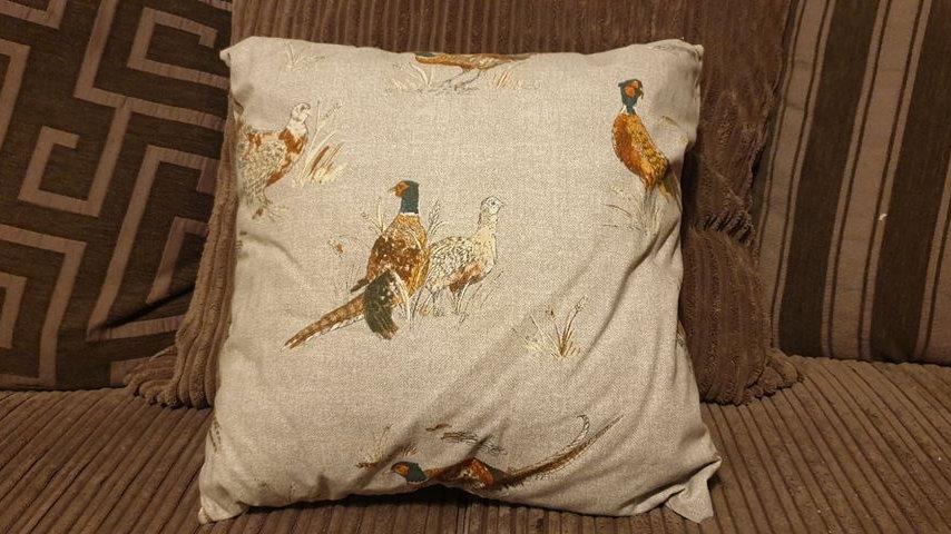 Pheasant Cushion (2)