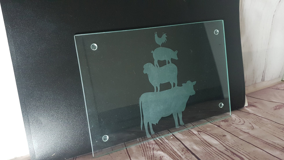 Farmyard Chopping Board