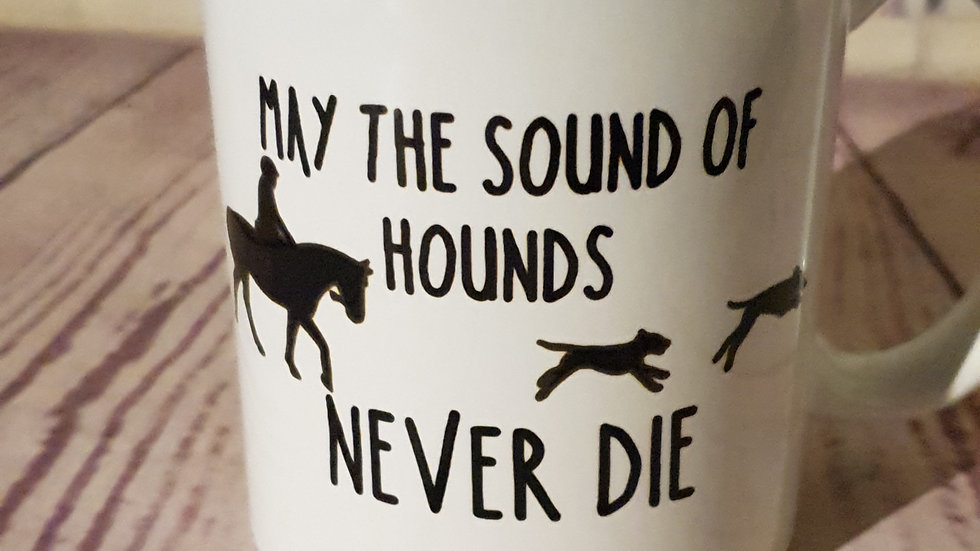 """Sound of Hounds"" Mug"