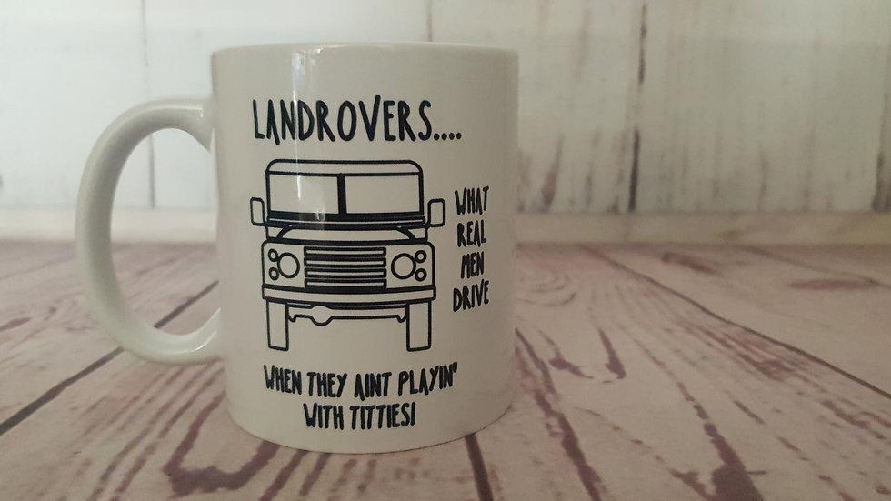Landrover Mug