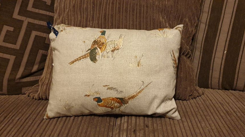 Pheasant Cushion (3)