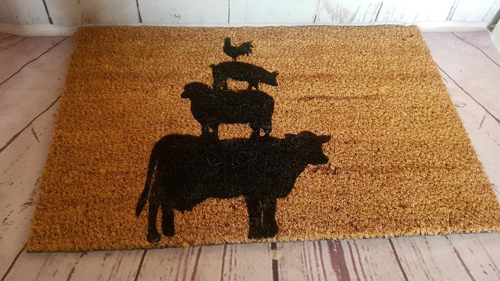 Farmyard Door Mat