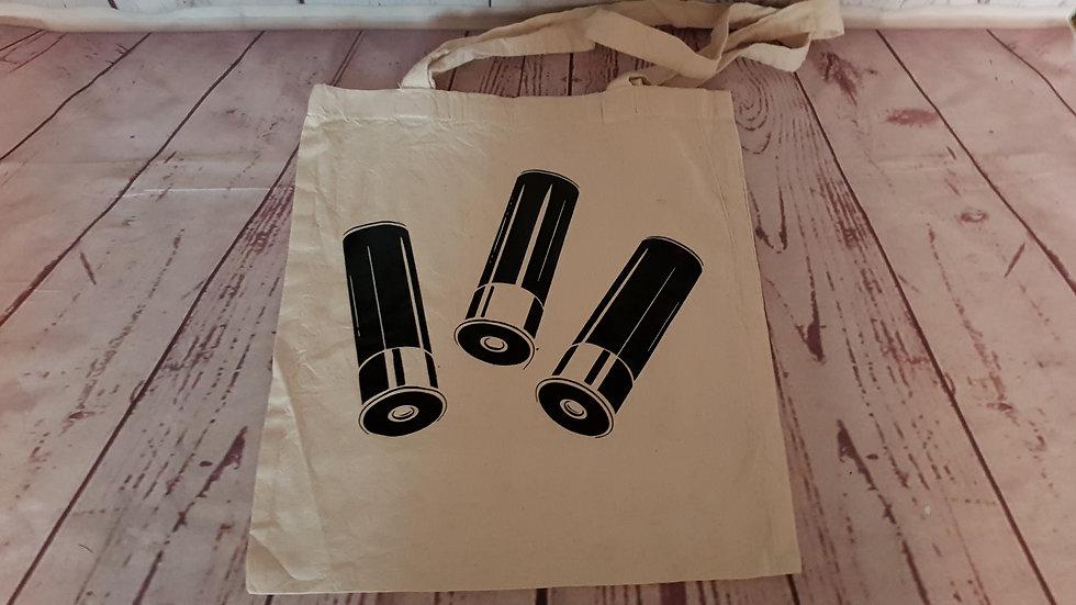 Shotgun Cartridge Tote Bag