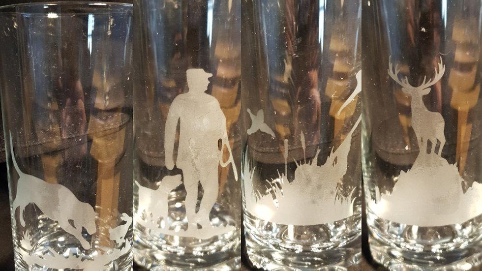 4 x Hi-Ball Glass Set