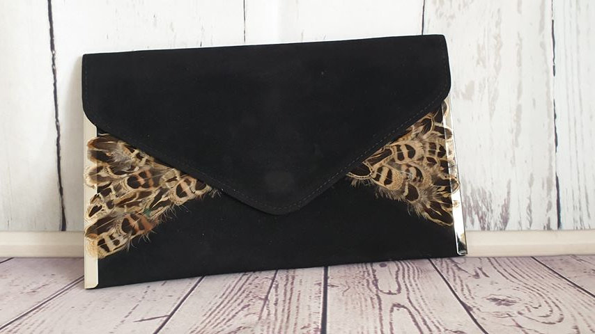 Hen Pheasant Feather Bag