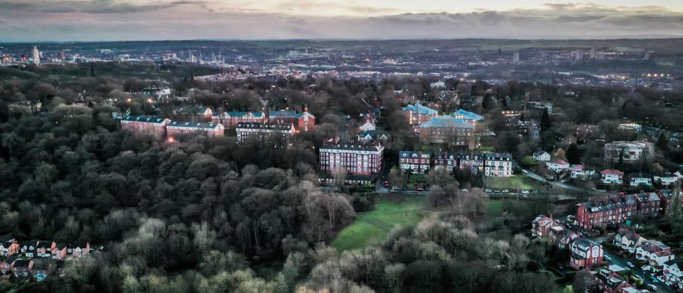 Aerial Views of Leeds