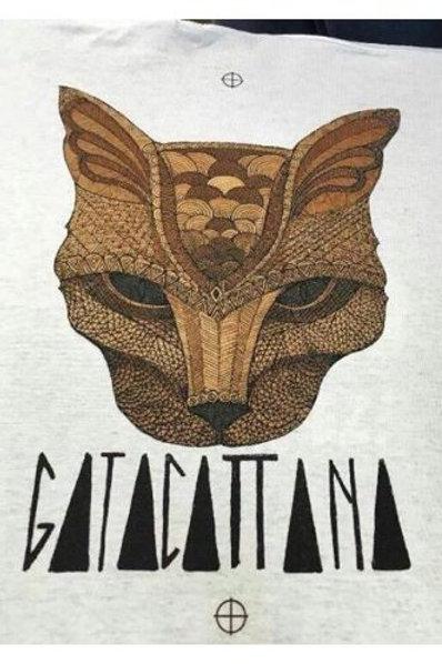 CAMISETA GATA CATTANA
