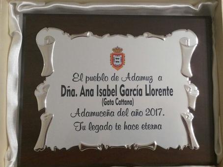 ADAMUCEÑA DEL AÑO