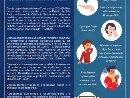 O Plano de Saúde São Cristovão na luta contra a pandemia