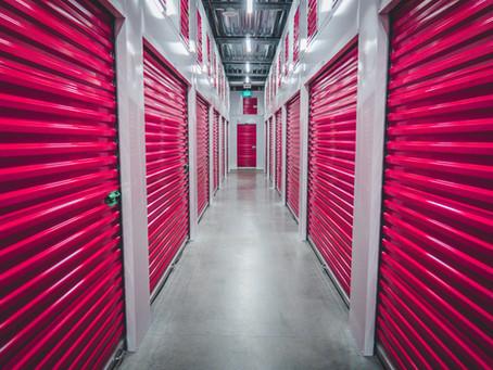 O que é 'self storage'?
