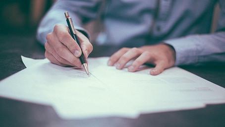Assine seus documentos através do 'Docusign'