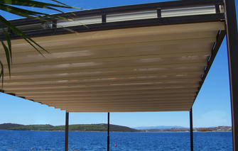 Waterfront Retractable Roof Alpha Roof