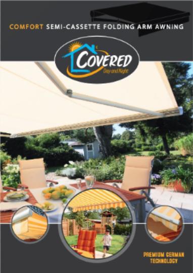 Comfort Folding Arm Awning brochure