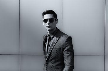 A man wearing sunglasses.