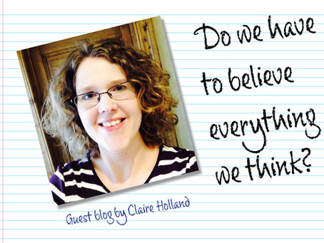 Do we have to believe everything we think?