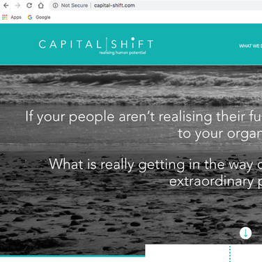 Capital Shift Website