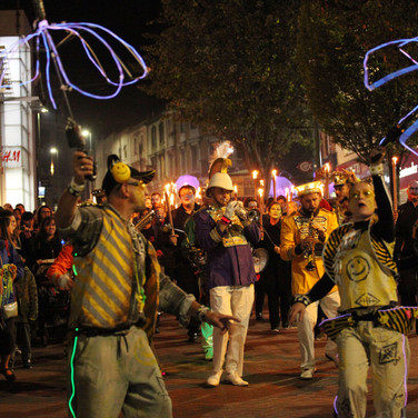 Mr Wilson's Second Liners - Bournemouth Arts by the Sea Festival 2016