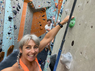 Using climbing as a great full-day activity to explore how our minds work