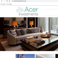 Acer Investments Website
