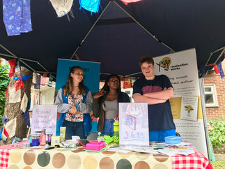 The Wellfest stall