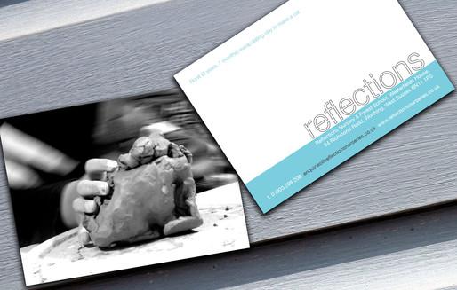 Reflections   Postcard Book