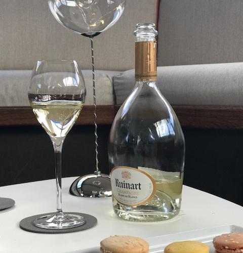 Luxury service aboard Shivas Motor Yacht champagne and Parisian macaroons