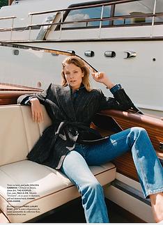 Air France Madame Constance Jablonski a bord de Kim canot automobile luxe et collection a Paris