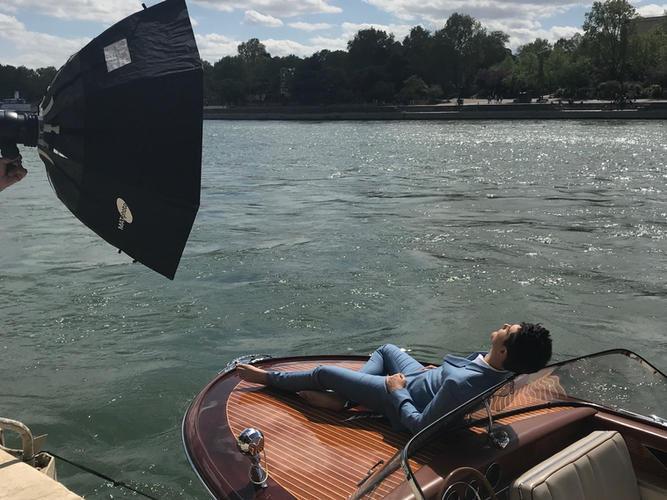 Press photo luxury press shooting Paris