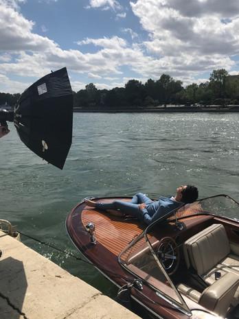 Press photo Shoot in Paris