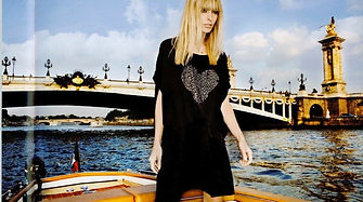 Berenice winter collection aboard Kim Luxury collection boat in Paris