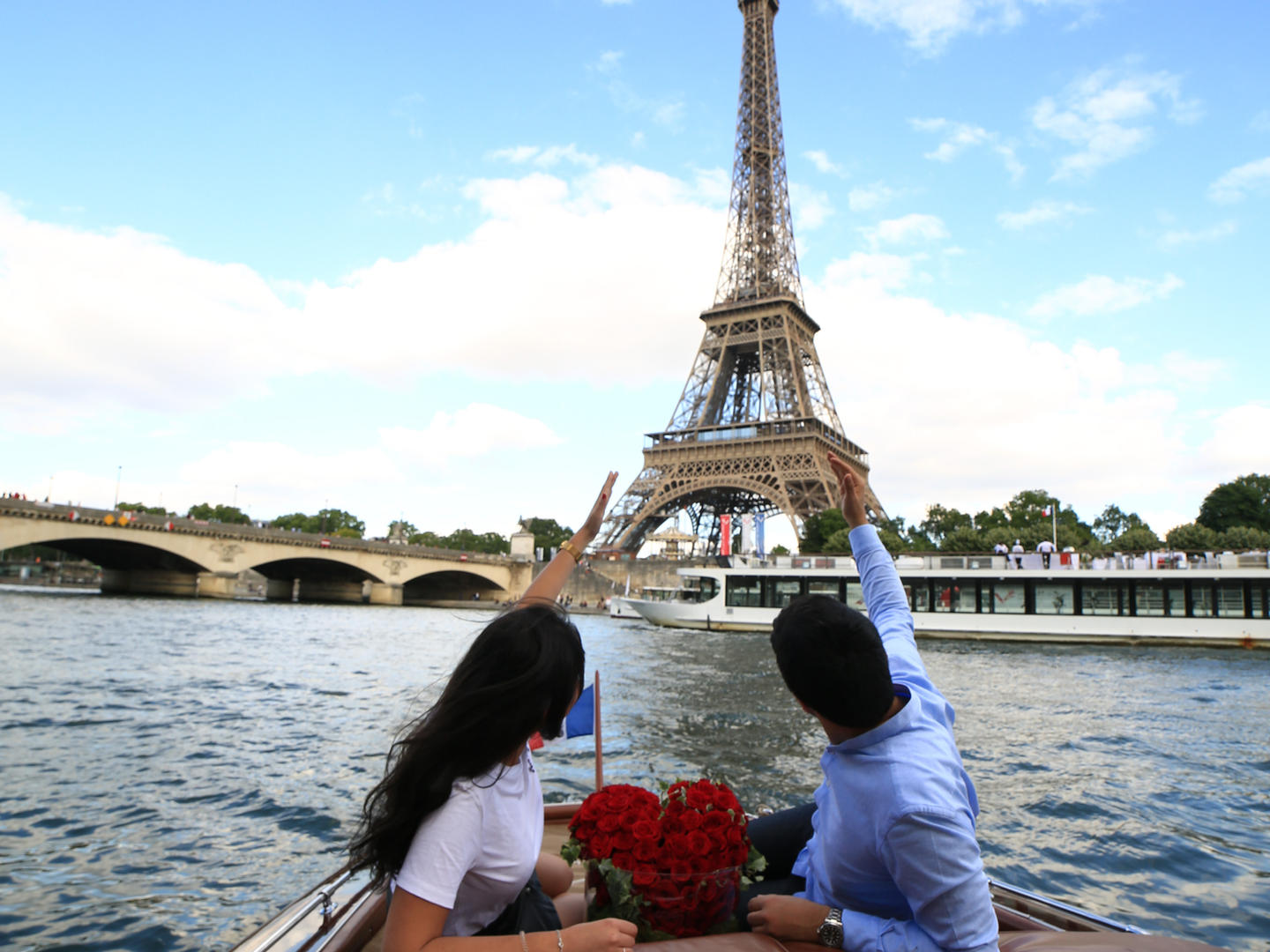 Proposal and romantic private boat ride
