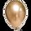 Thumbnail: Ballons Métallisé Or x 5