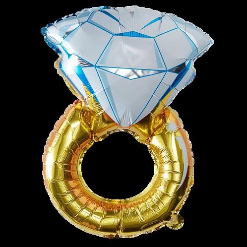 Ballon Bague Bleue 40 cm